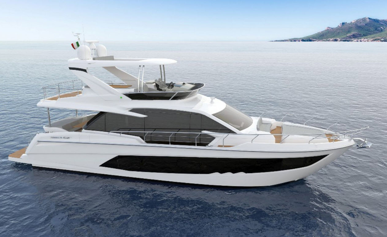 Absolute Yachts 62 Fly Profile Image