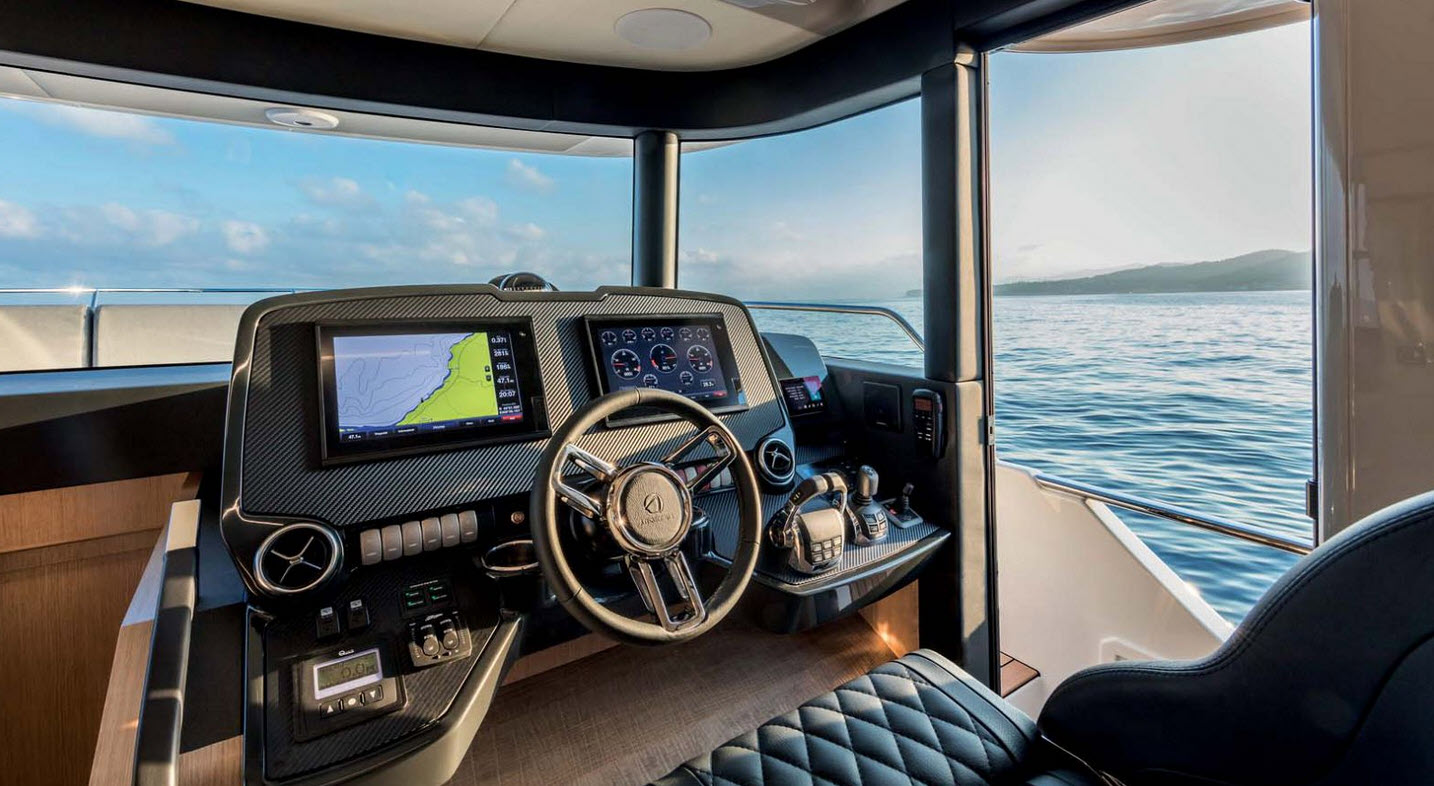 EmpirBus Garmin Technology Absolute Yachts