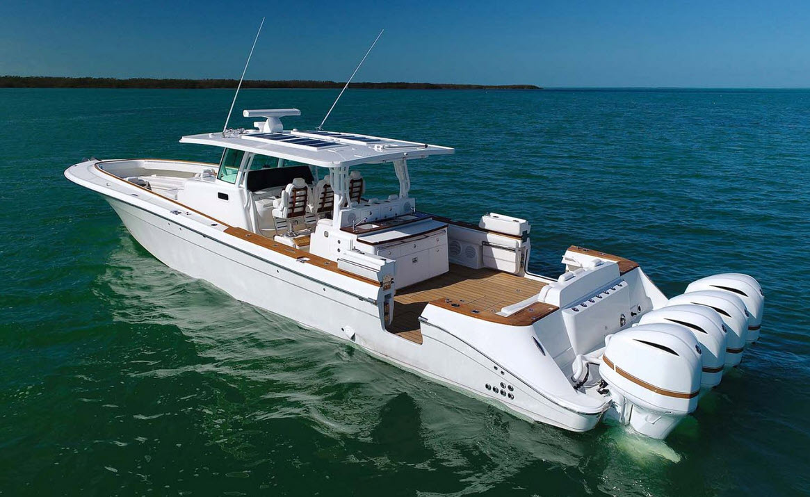 HCB 53 Suenos At The Palm Beach Boat Show