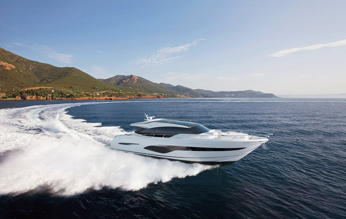 new princess yachts for sale