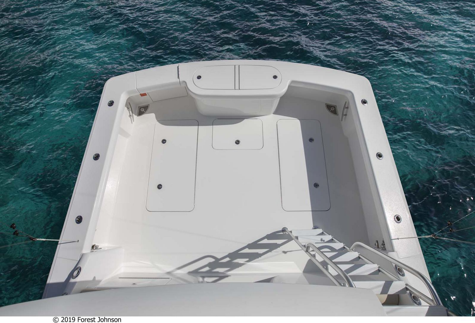 Viking 38 Billfish Cockpit