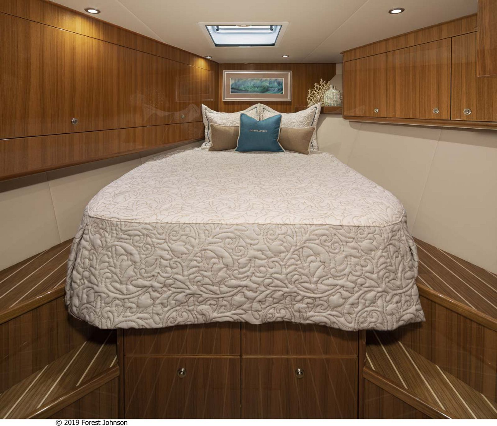 viking 38 Billfish Forward Stateroom