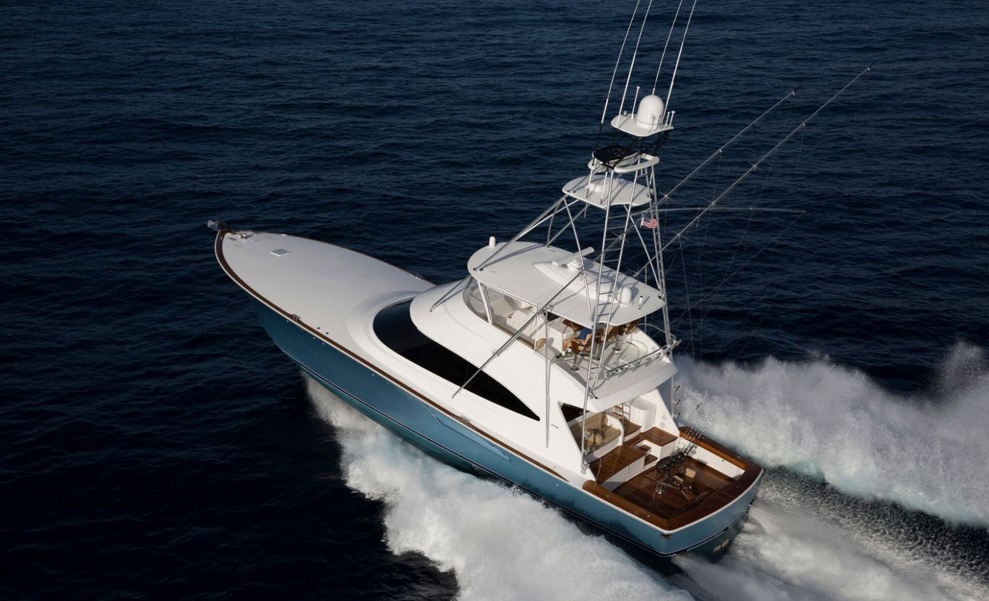 Viking 72 Convertible Yacht For Sale