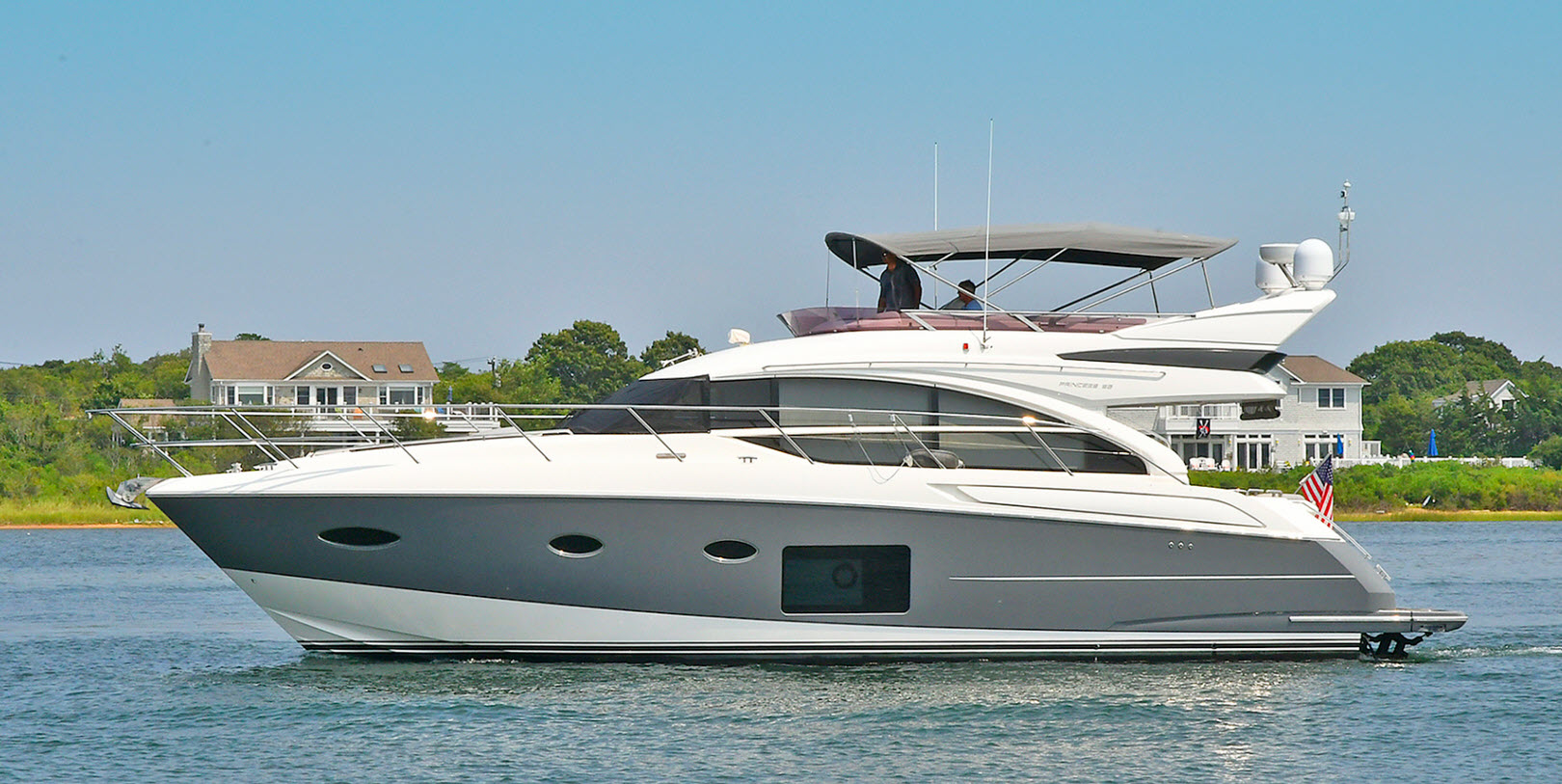 About time Princess 52 flybridge
