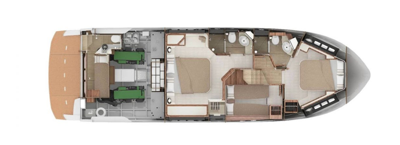 absolute 50 fly lower deck layout