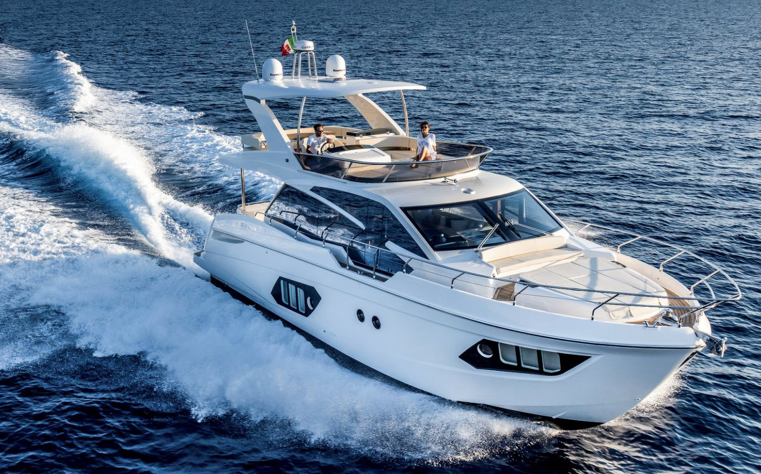 absolute 50 flybridge yacht for sale at flibs