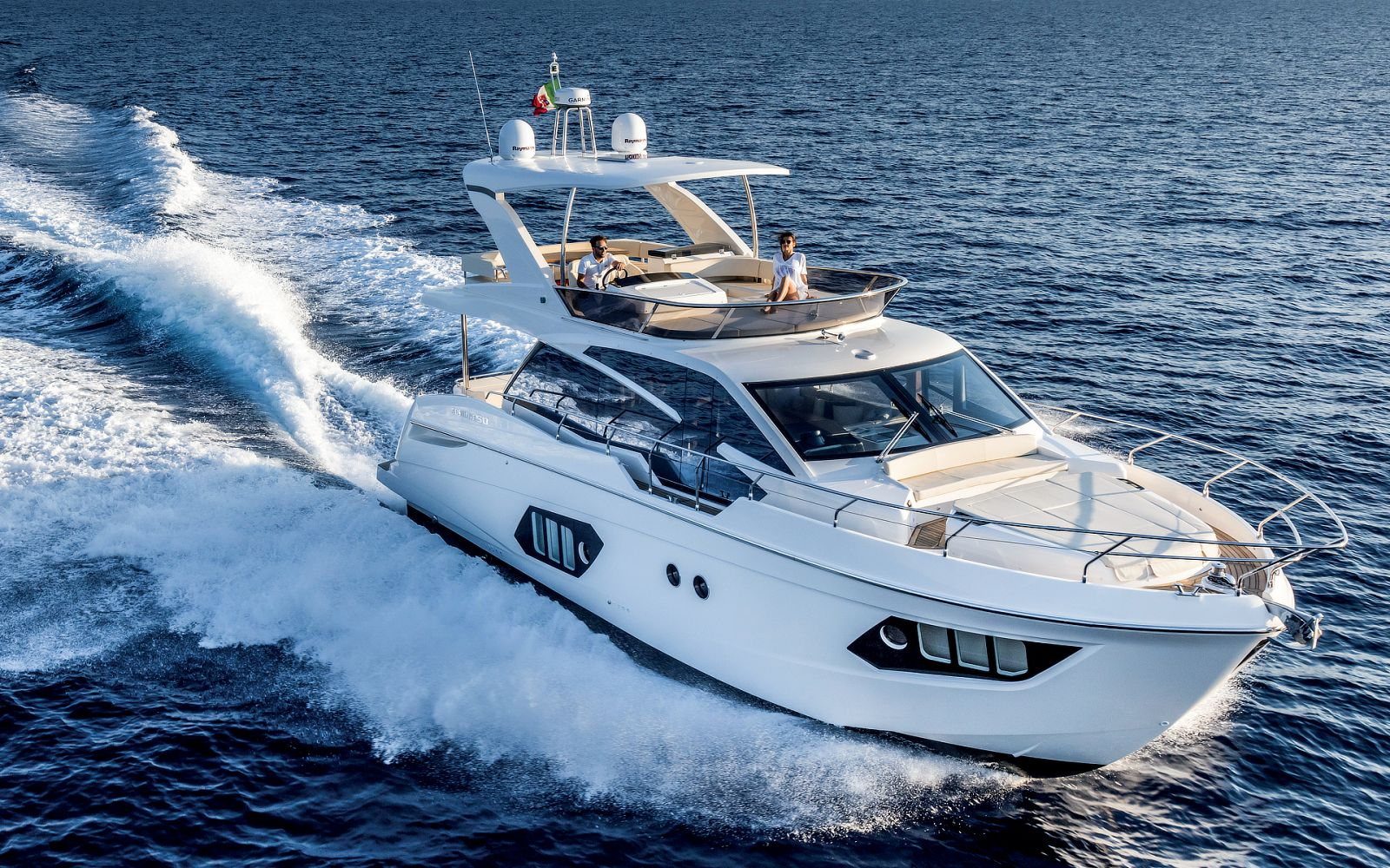 Absolute 50 flybridge yacht for sale in montauk