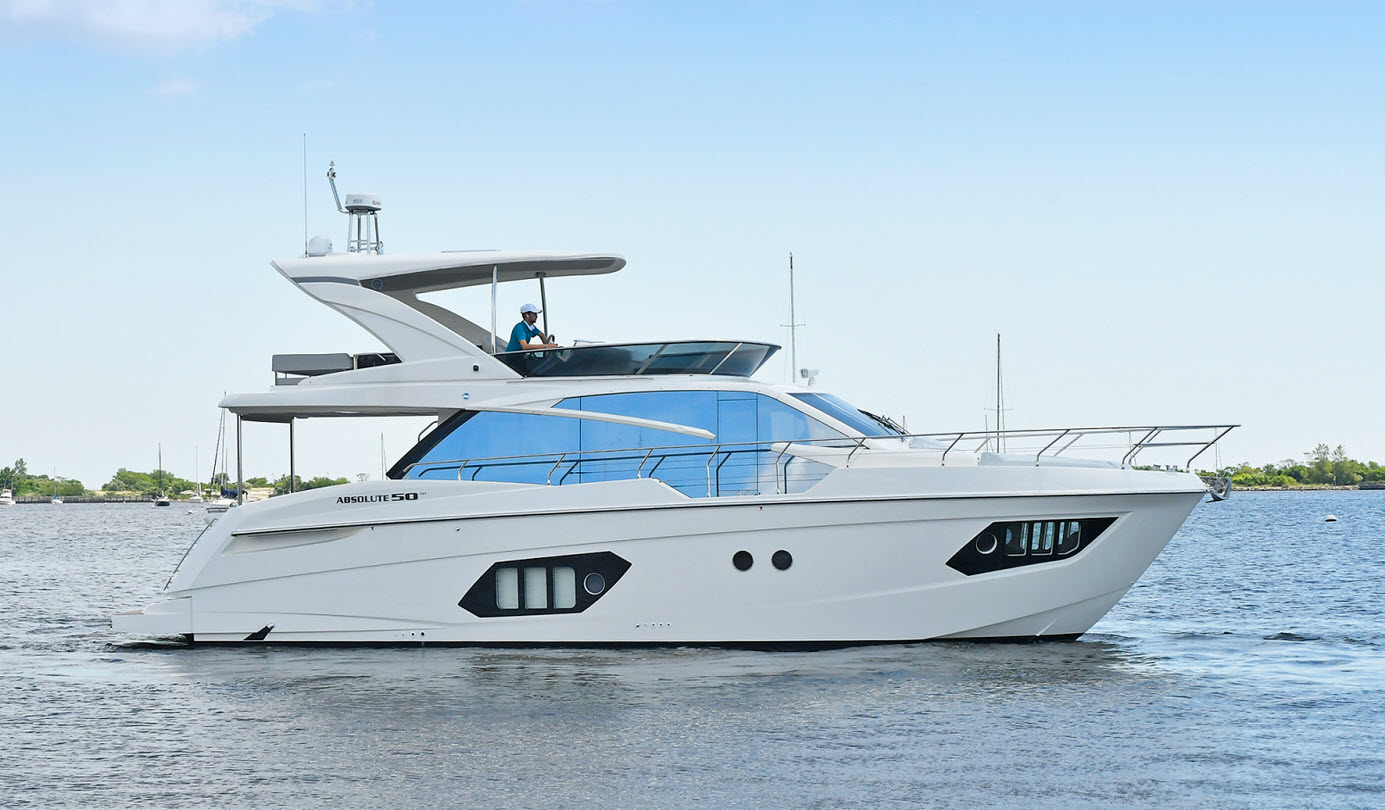Absolute Yachts 50 Flybridge
