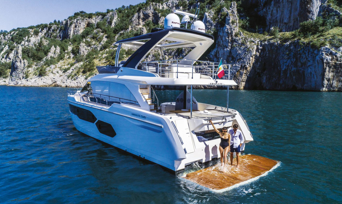 Absolute 58 Flybridge Yacht for sale