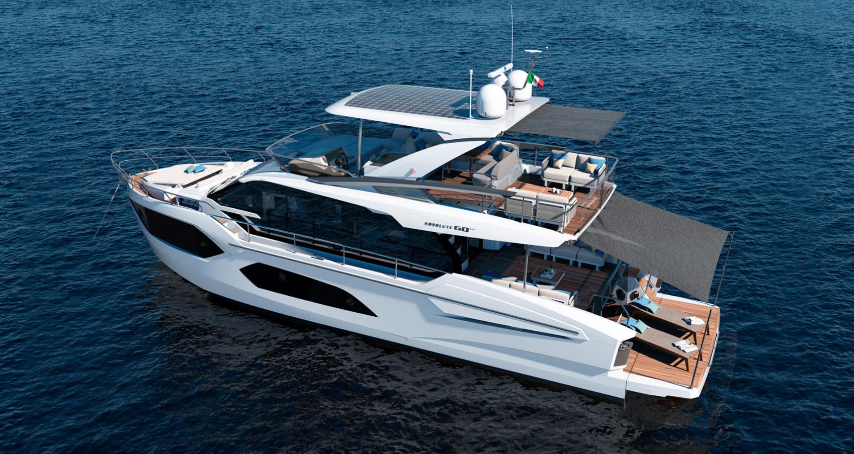absolute 60 flybridge yacht