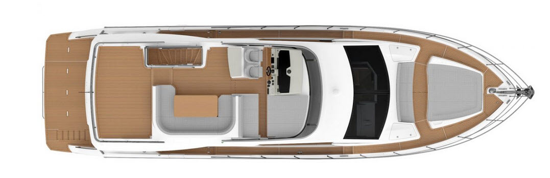 Absolute 62 flybridge layout