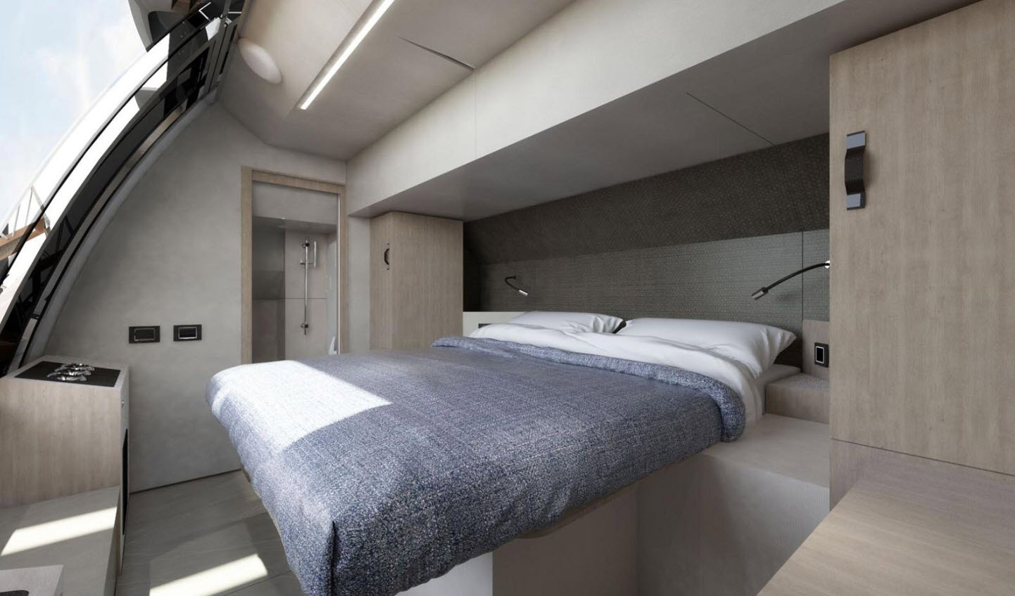 Absolute 64 Navetta convertible bed
