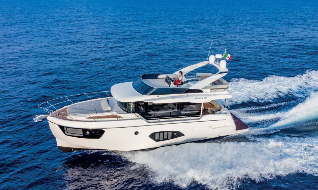 absolute 48 navetta yacht norwalk boat show