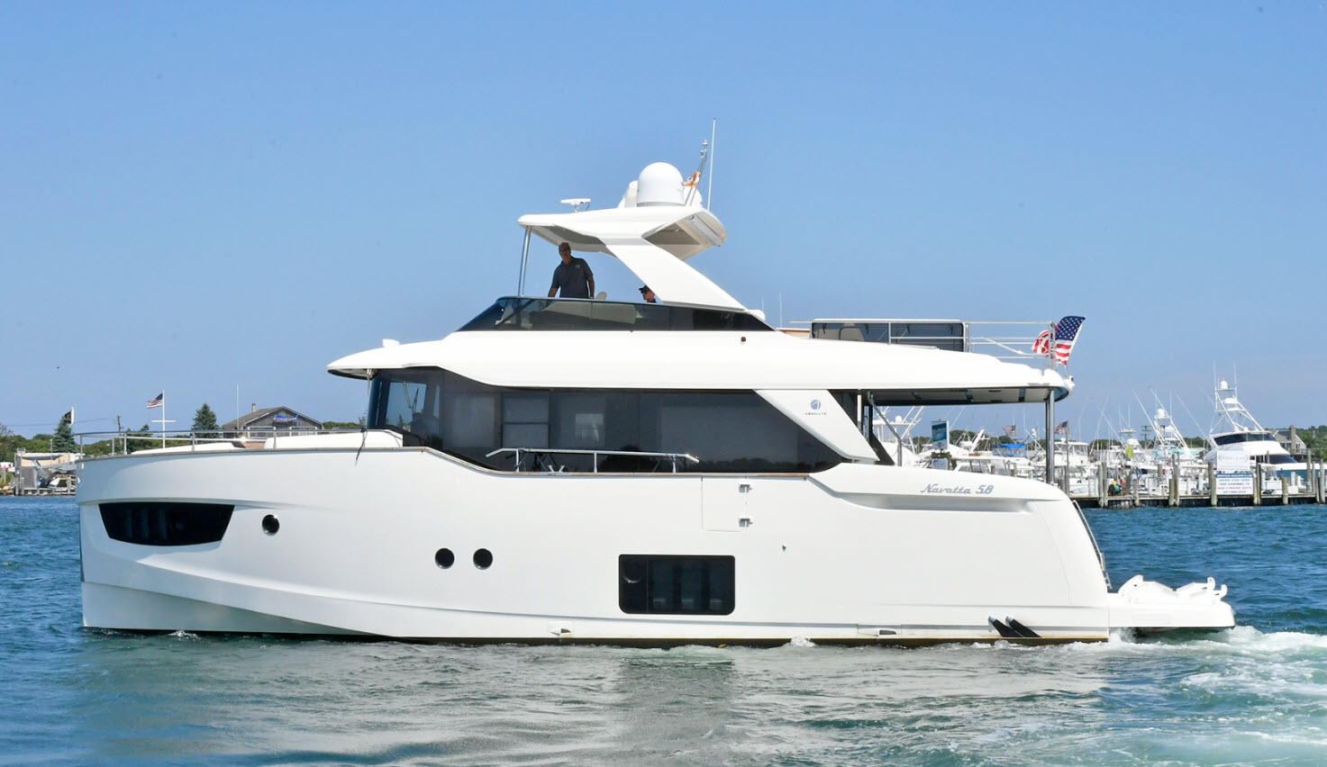 absolute 58 navetta yacht for sale at flibs