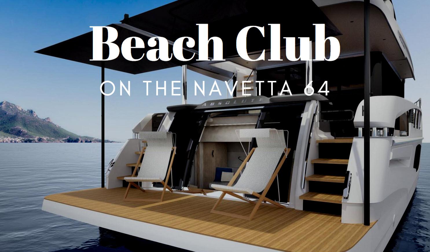 absolute navetta 64 beach club