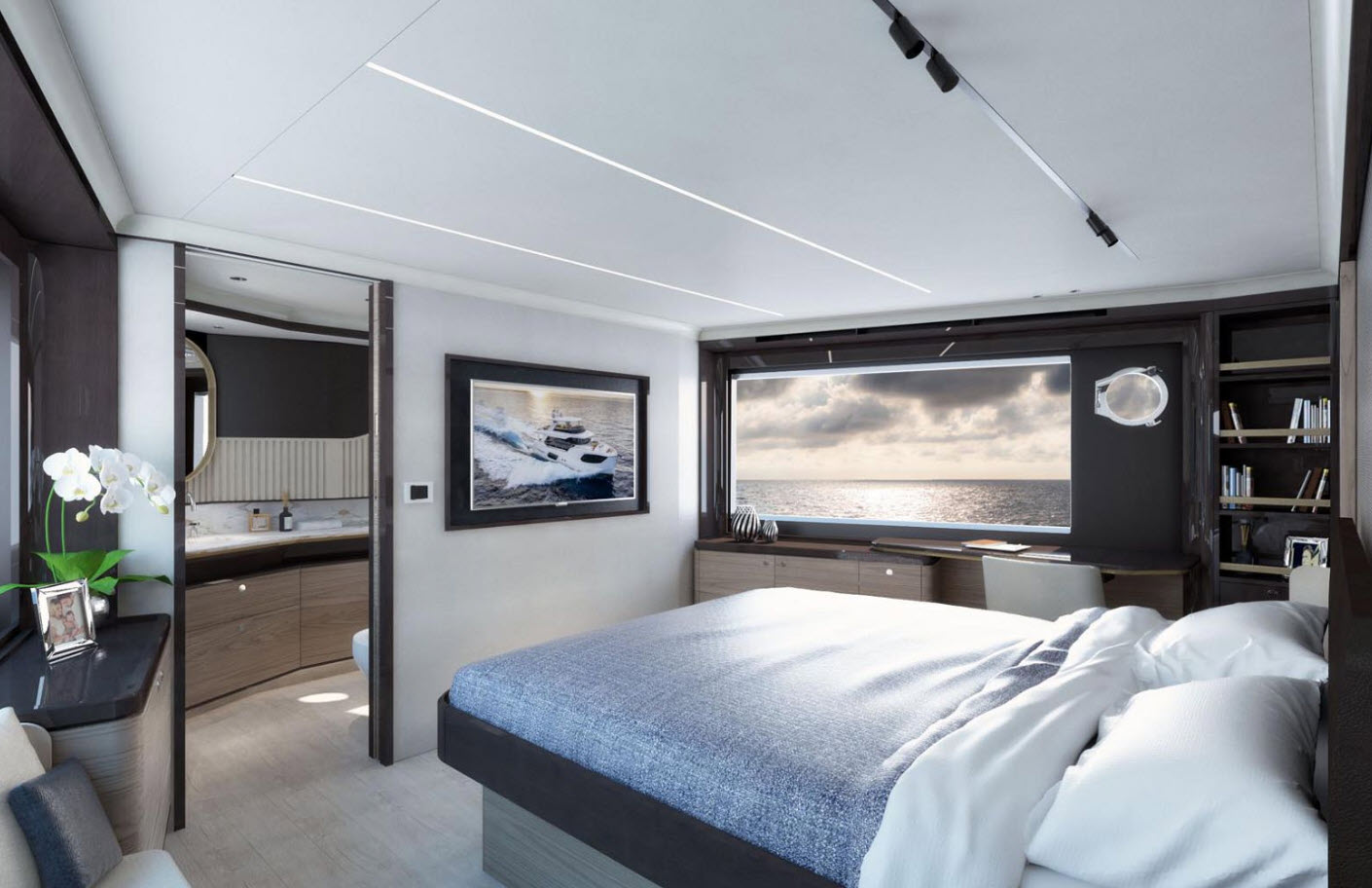 master suite on absolute navetta 64
