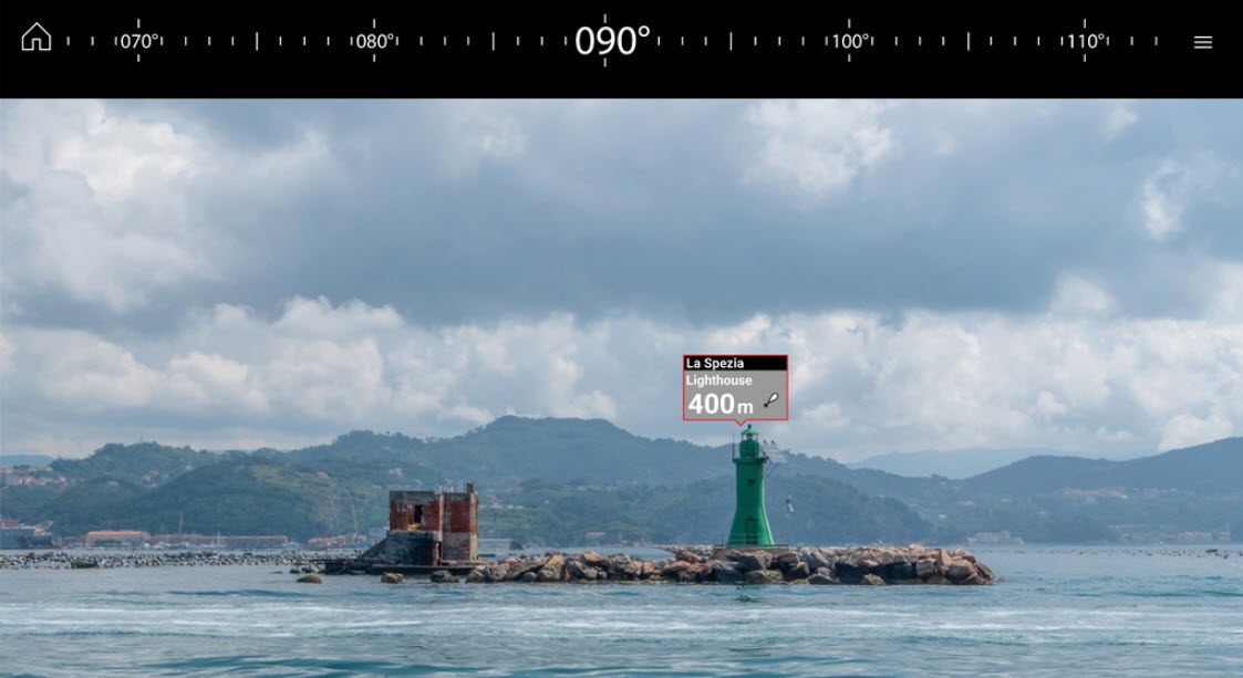 Raymarine CruiseClear Augmented Reality