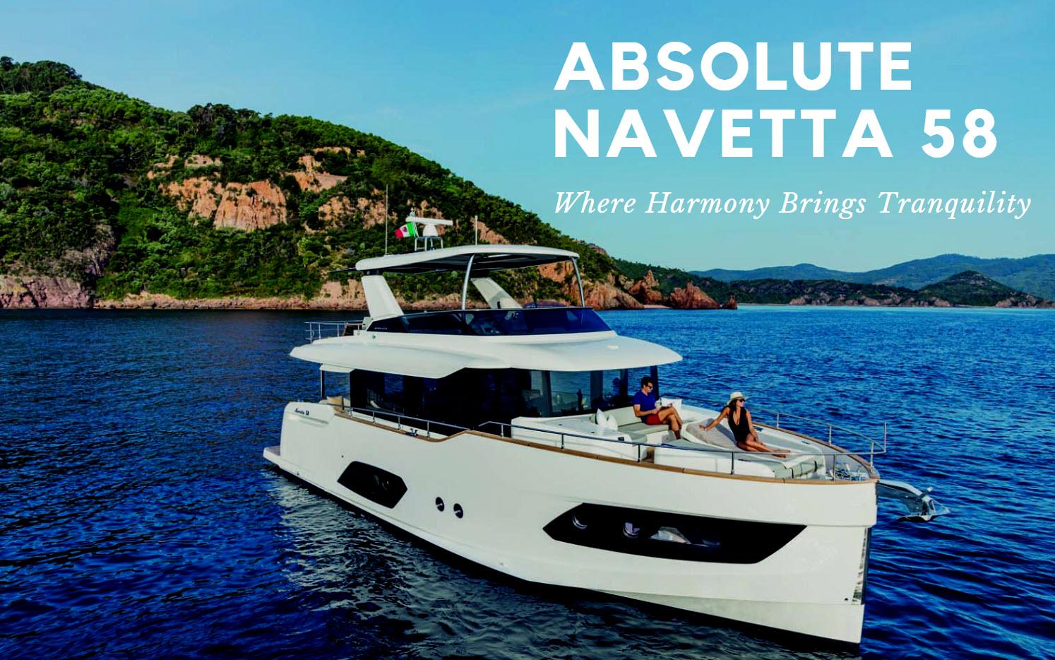 absolute yachts 58 navetta
