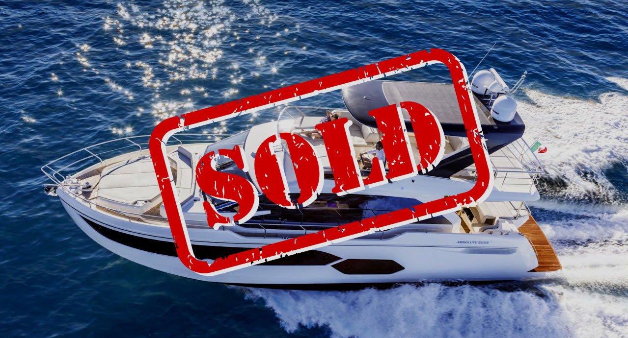 Absolute Yachts 58 Sold