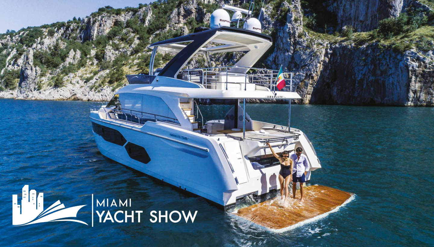 absolute yachts at miami boat show