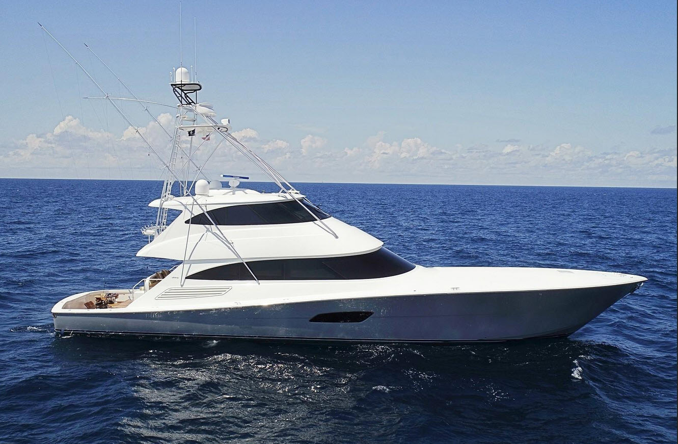 Deep DevOcean - 2016 Viking 92 Enclosed Bridge