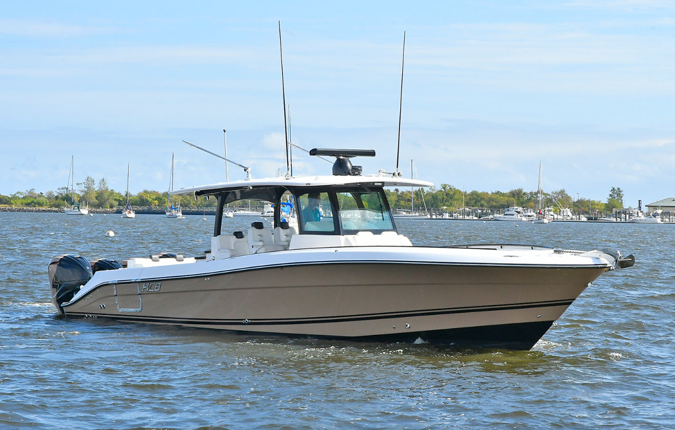 HXB 42 Siesta Center Console Yacht