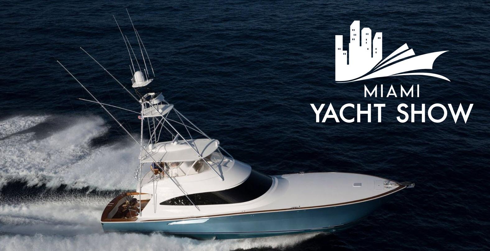 miami yacht show viking yachts
