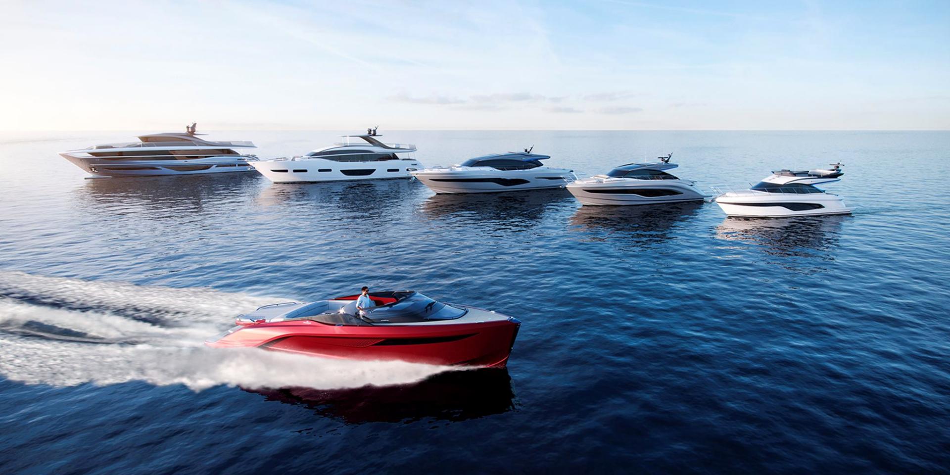 Princess Yachts New Model Line