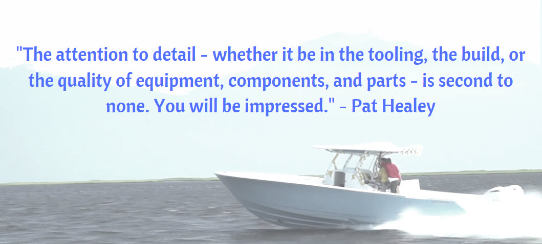 pat healey quote about valhalla boatworks