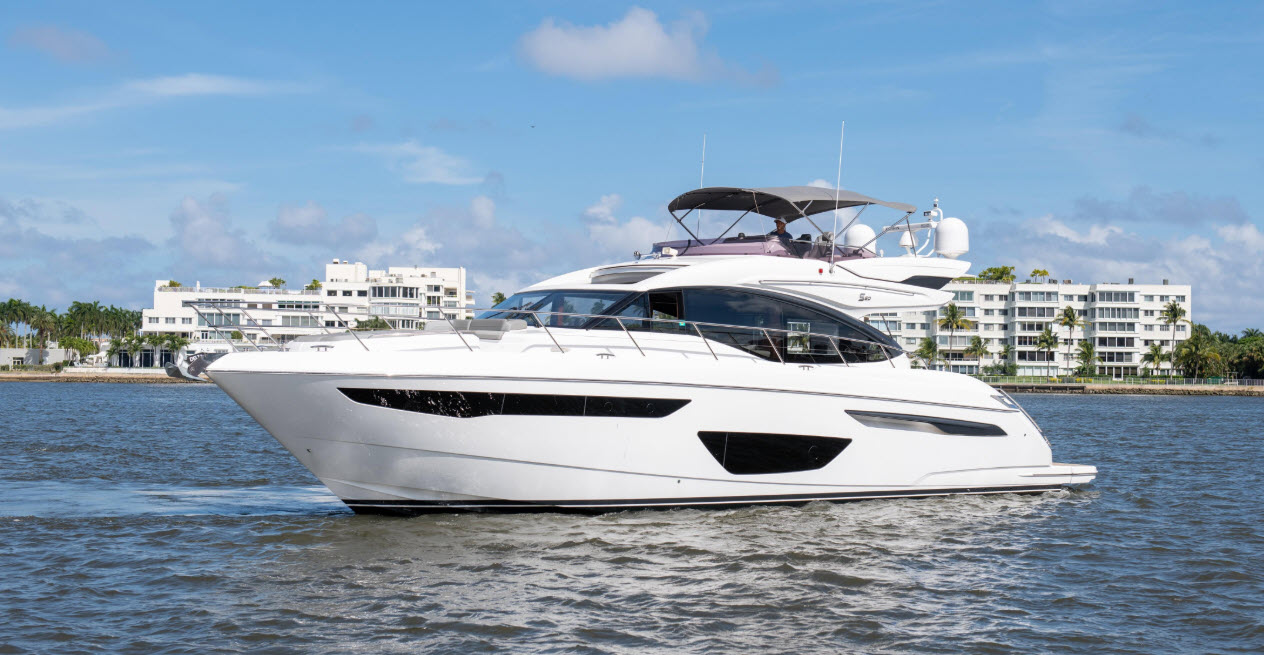 Play To Win - Princess S60 Yacht