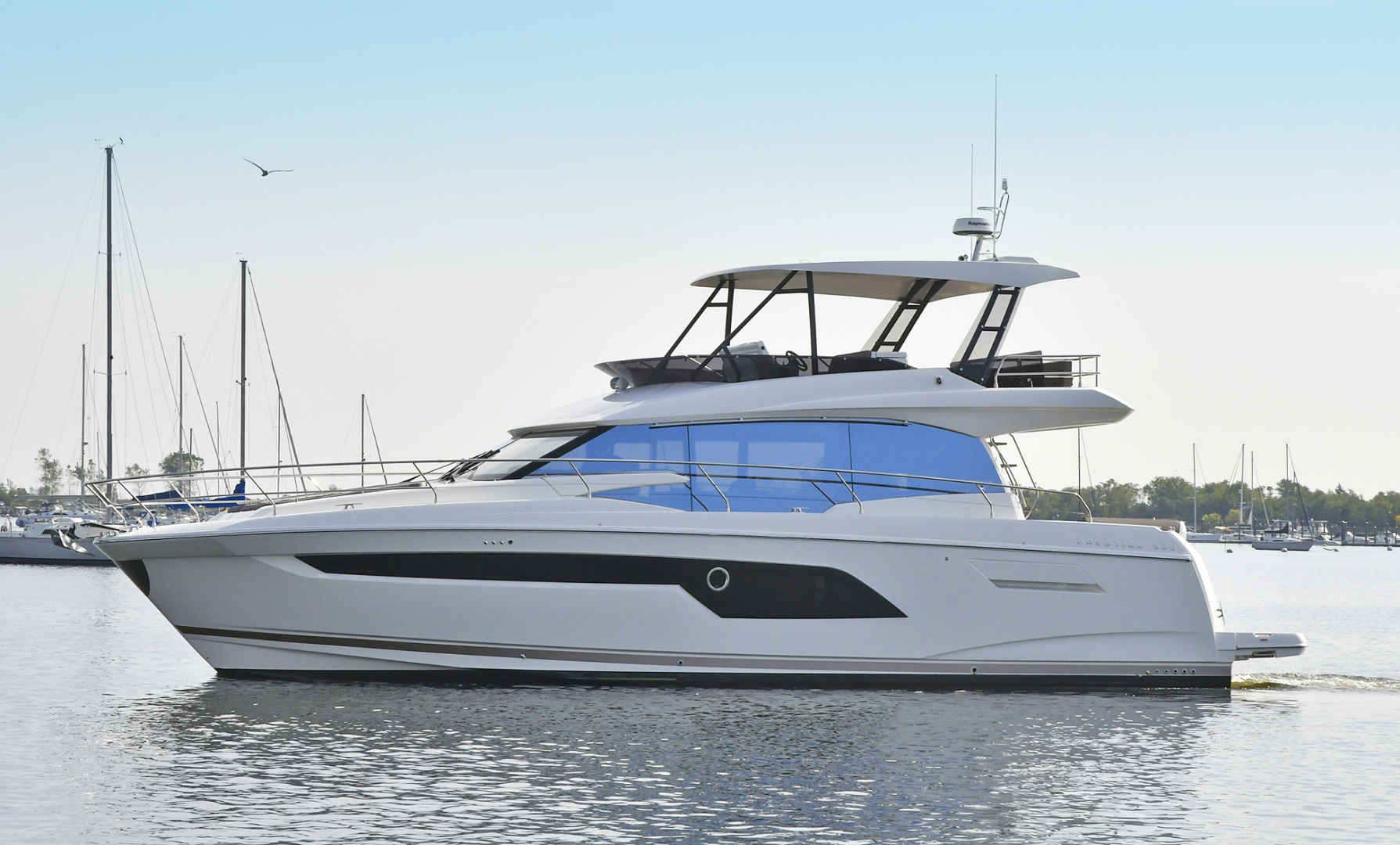 prestige 52- flybridge yacht for sale in montauk