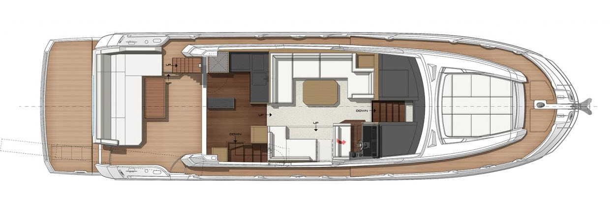 Prestige 520S Interior layout