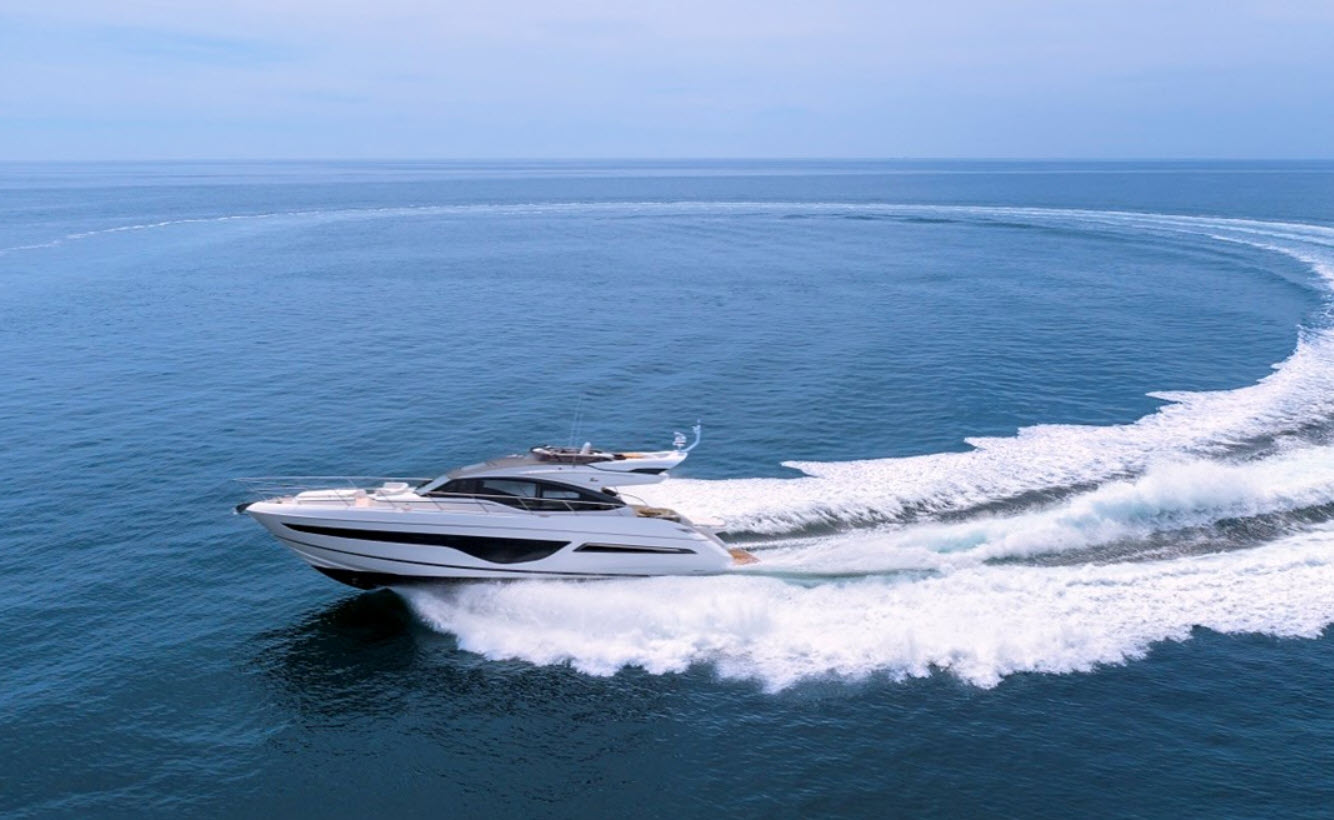Princess S66 Sportbridge yacht for sale at flibs
