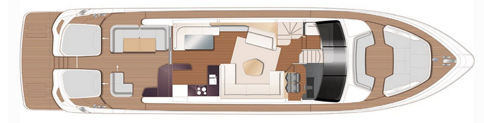 Princess V78 Main Deck Layout