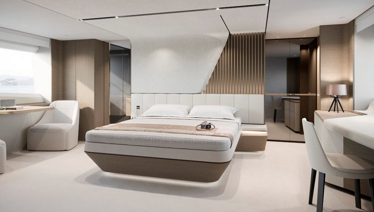 Princess Y85 Master Suite