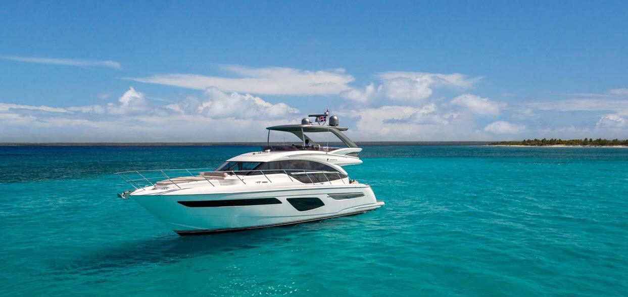 Princess Yachts F55 Wins Best Flybridge Up To 60 Feet Award Staten