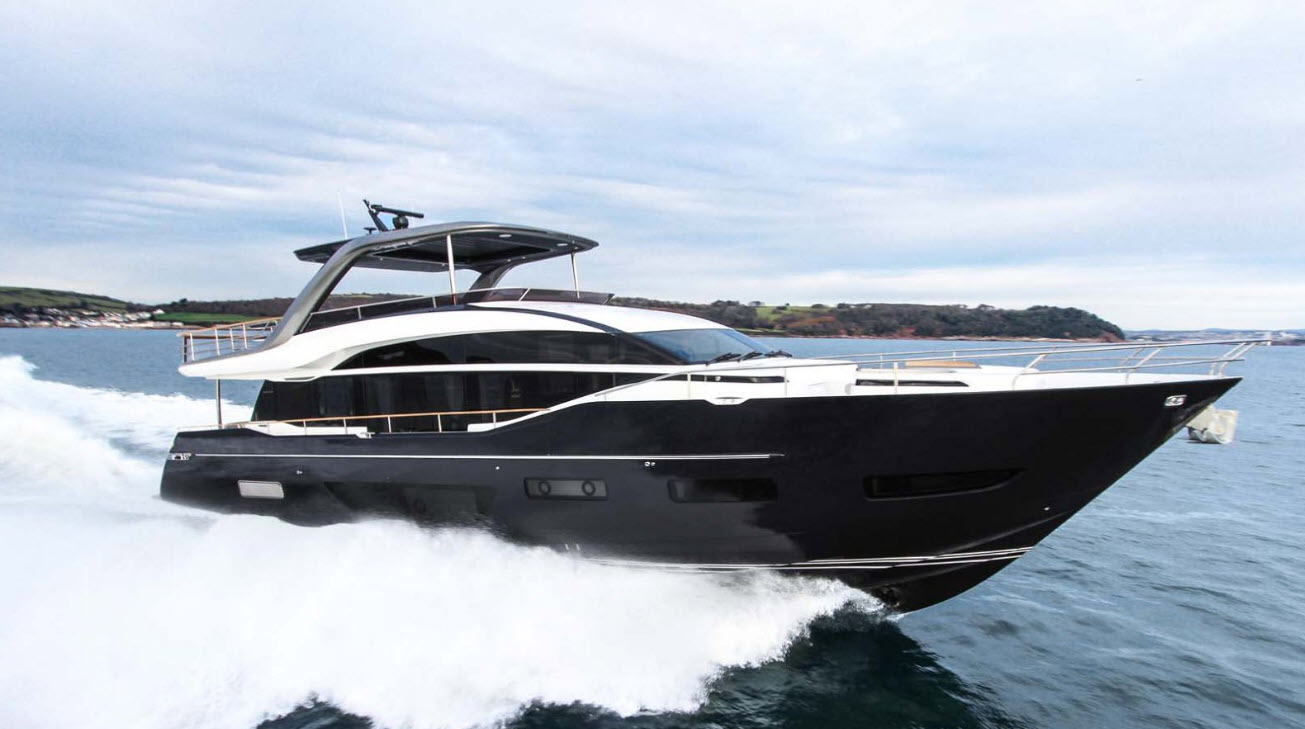 princess yachts for sale at fort lauderdale boat show