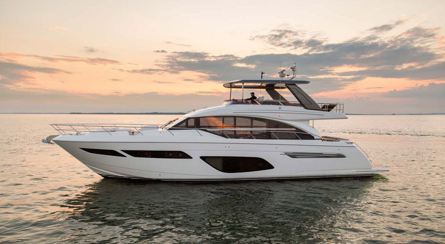 Princess F70 Yacht For Sale At FLIBS