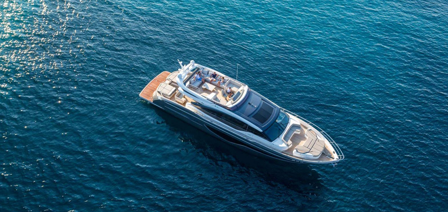 Record Year For New Princess Yachts Brokerage Market Also Strong