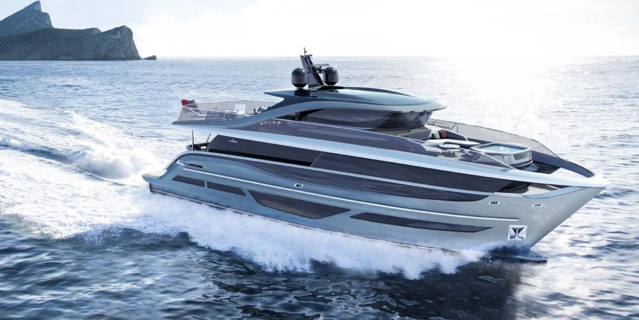 Princess Yacht X-95