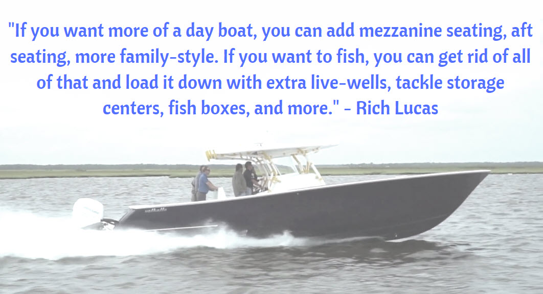 quote about valhalla boats by rich lucas