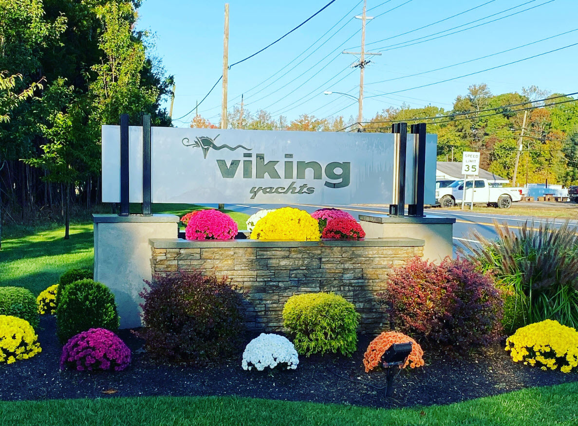 Viking Yachts Factory entrance
