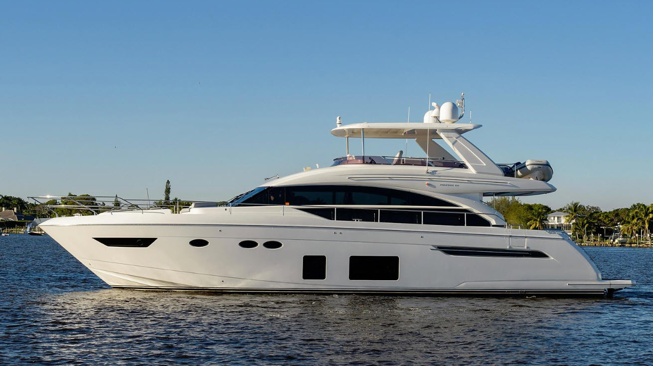 Skippin Stones Princess 68 Flybridge