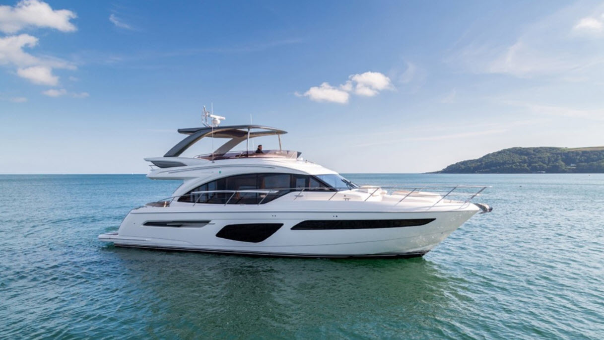 Sweet Melissa - Princess 62 Flybridge