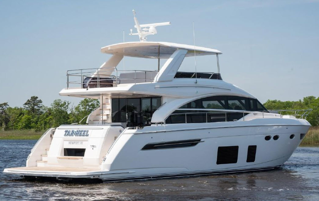 Tarheel - Princess 68 Flybridge