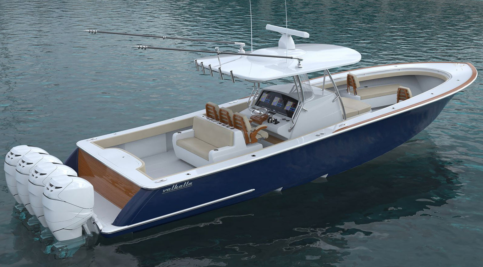 Valhalla Boatworks Featured At Viking Yachts Sea Trial Event