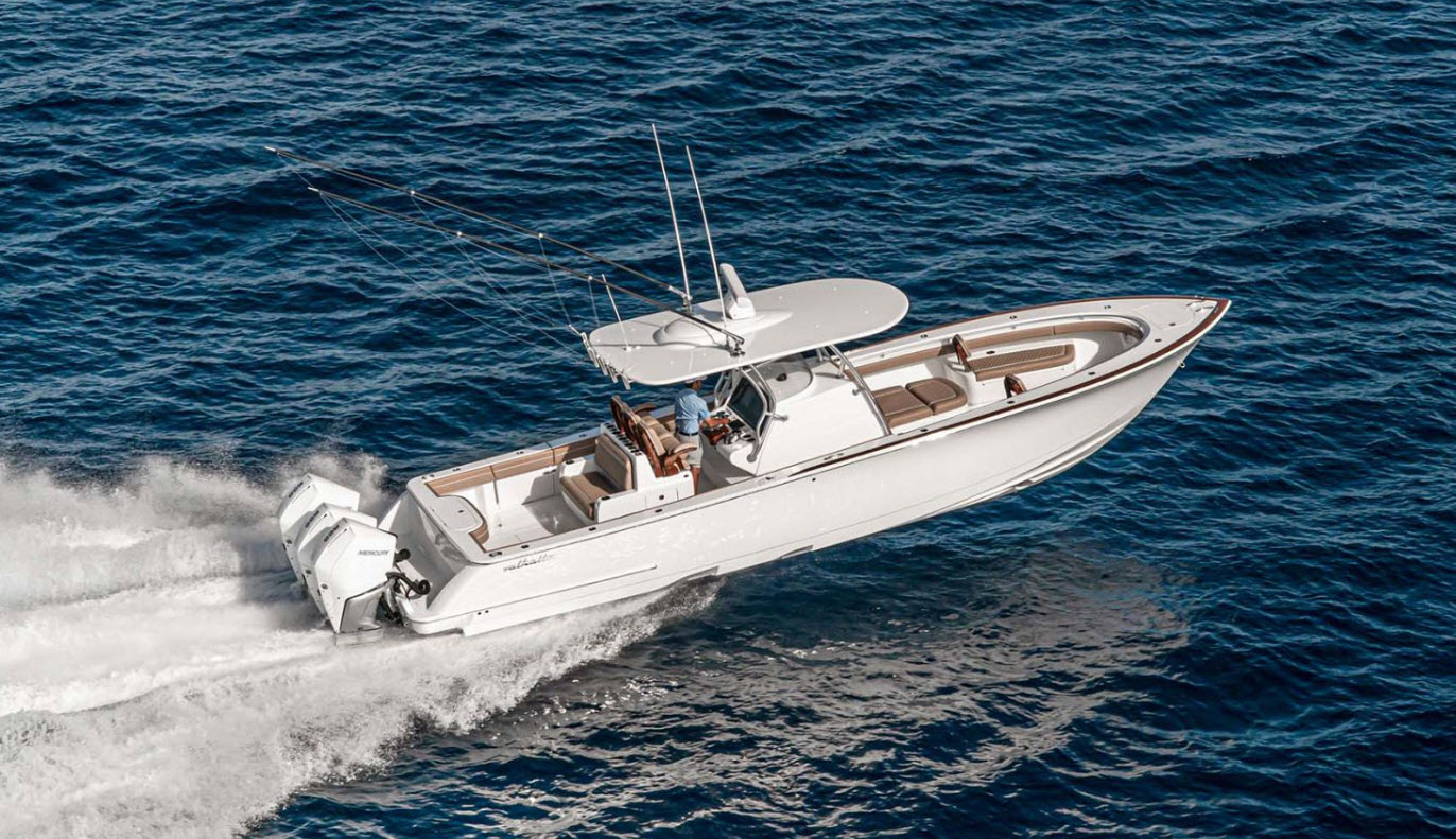 Valhalla V-37 boat for sale