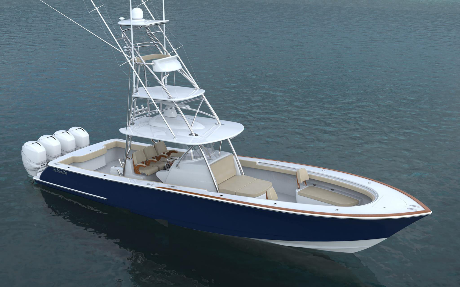 Valhalla Boatworks V41 With Tuna Tower