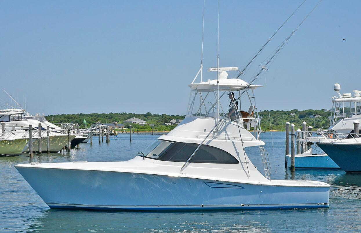 Viking 38 Billfish Norwalk Boat Show