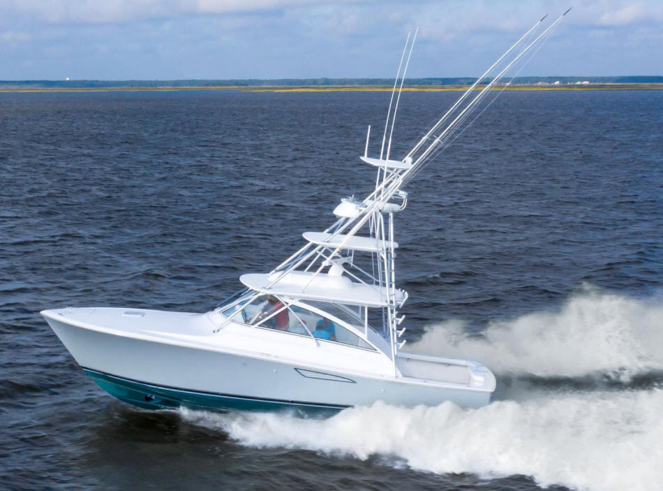 viking 38 open billfish yacht at flibs